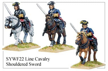 Line Cavalry with Shouldered Sword (SYWF022)