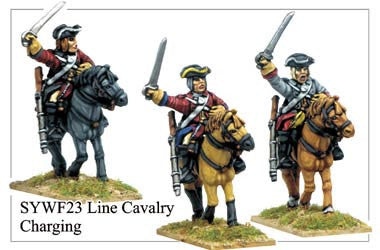 Line Cavalry Charging (SYWF023)