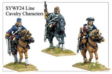 Line Cavalry Characters (SYWF024)