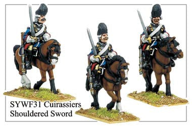 Cuirassiers with Shouldered Sword (SYWF031)