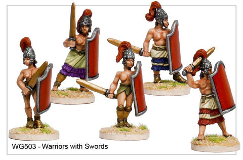 Warriors with Swords (WG503)
