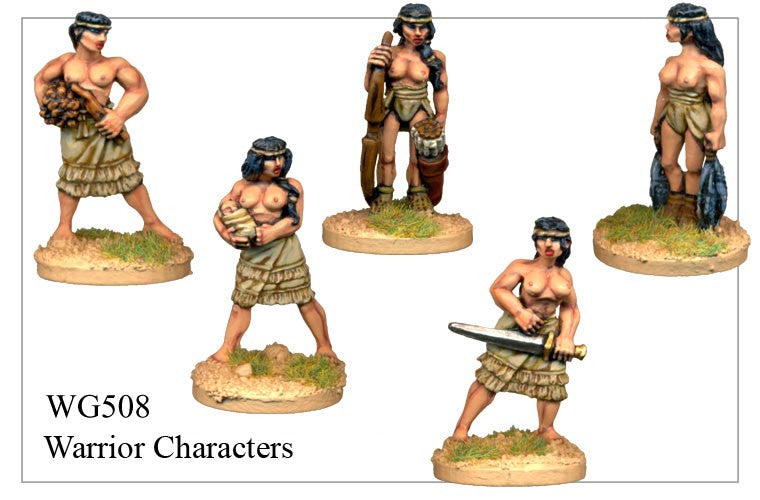 Warrior Characters (WG508)