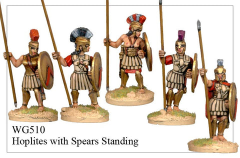 Hoplites with Spears Standing (WG510)
