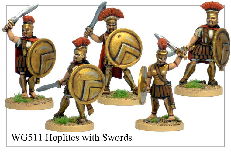 Hoplites with Swords (WG511)