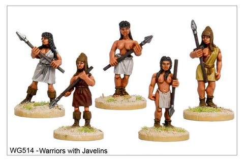 Warriors with Javelins (WG514)