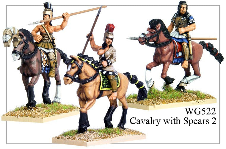 Cavalry with Spears 2 (WG522)