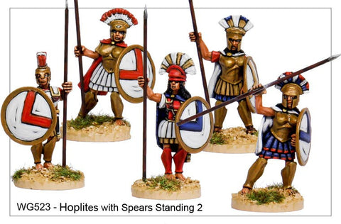 Hoplites with Spears Standing 2 (WG523)