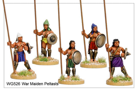 War Maiden Peltasts (WG526)
