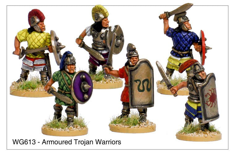 Armoured Trojan Warriors (WG613)