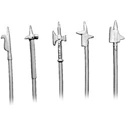 WP013 - Polearms and Halberds