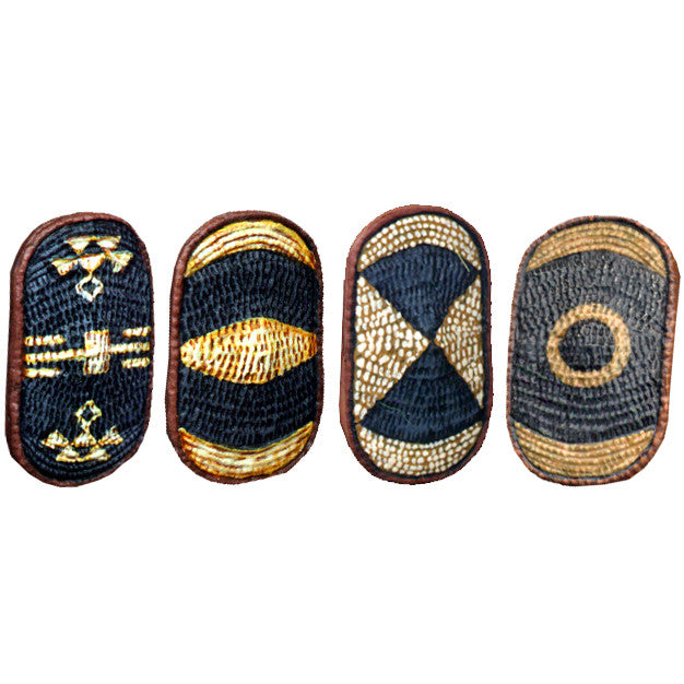 WP037 - African Basketwork Azande Shields