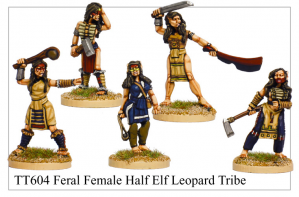TT604 - Feral Female Half Elf Leopard Tribe