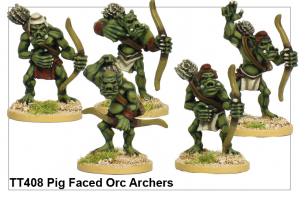 TT408 - Pig Faced Orc Archers