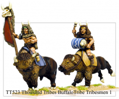 TT523 - Thousand Tribes Buffalo Tribe Tribesmen 1