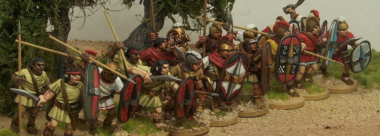Ancient Spanish and Carthaginians