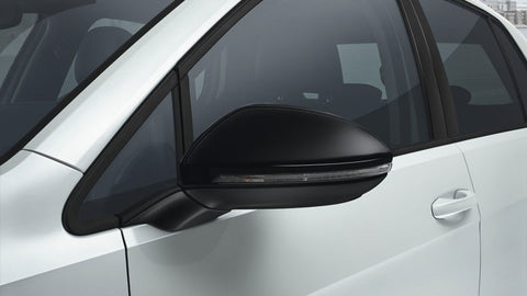 Genuine OEM VW Gloss Black Mirror Covers for Golf MK7 & MK7.5