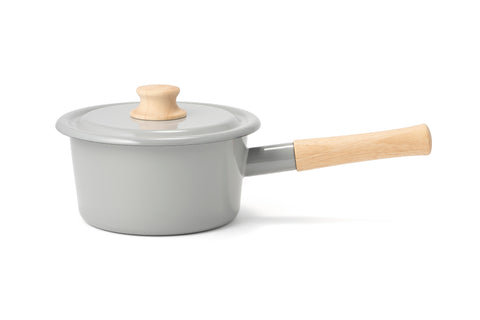 Light Grey Saucepan (1.6 Litres)