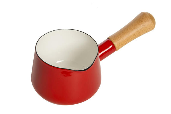 Tomato Red Milk/Sauce Pan (0.75 Ltrs)
