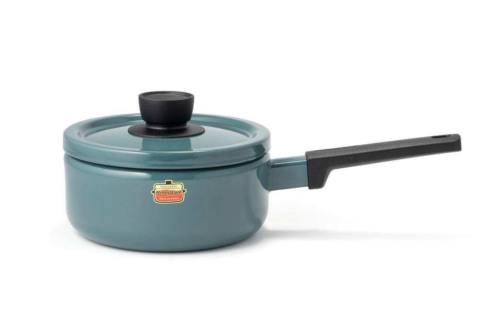 Smoke Blue Sauce Pan (2.2 Ltrs)