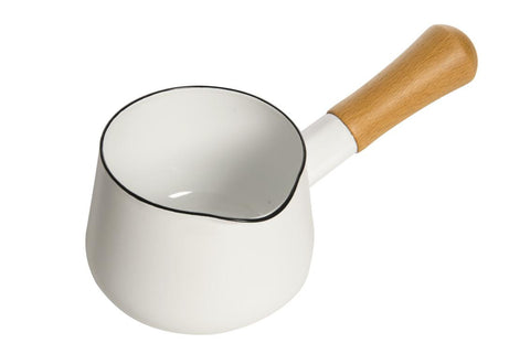 White Milk/Sauce Pan (0.75 Ltrs)