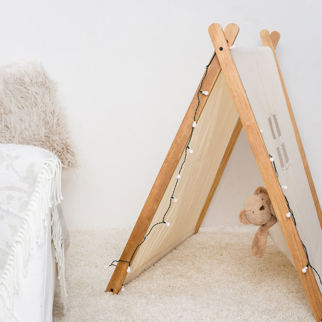Child's Folding Play Tent :: Canvas & Willow PlayTents / Teepees