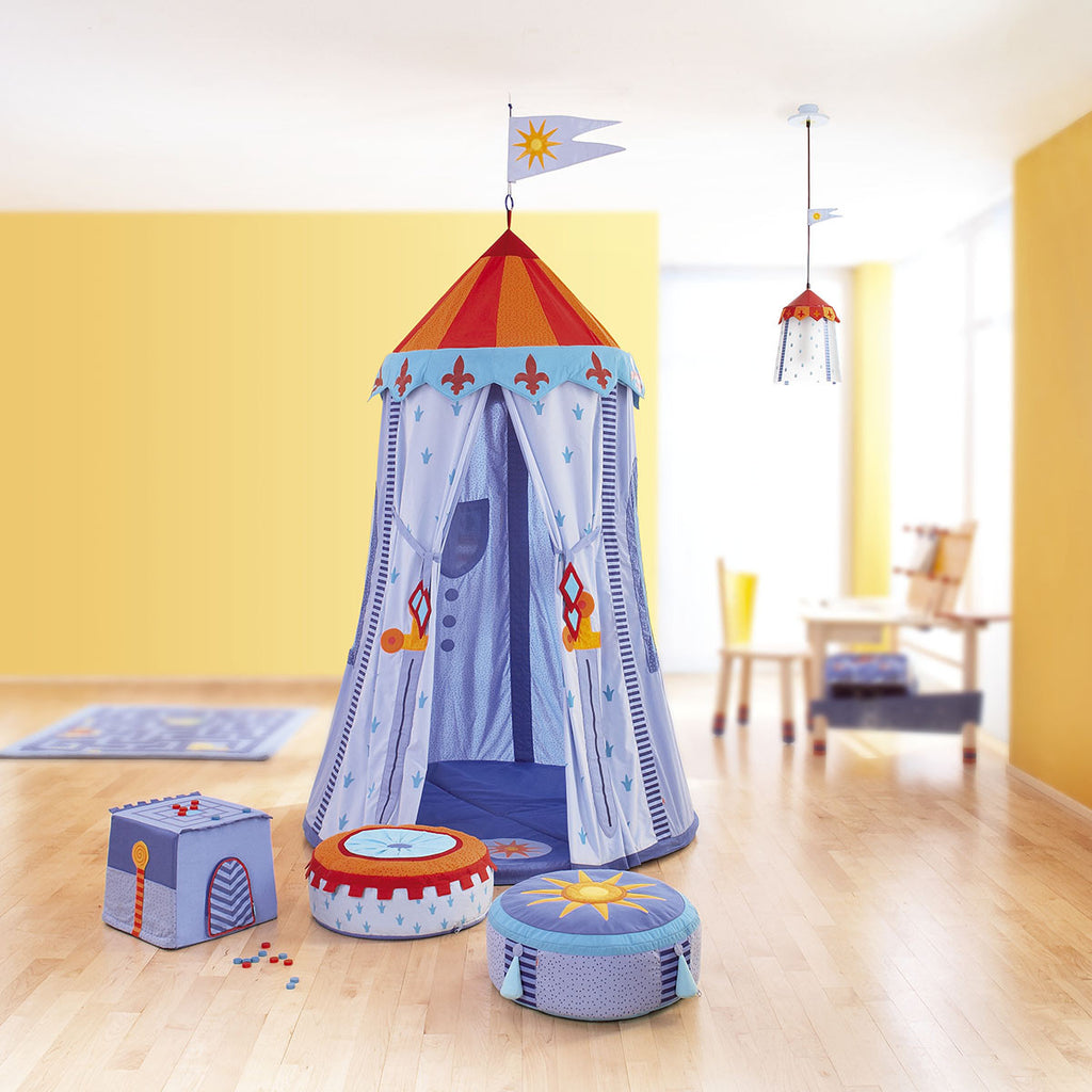 Knights Hanging Tent :: Canvas & Willow PlayTents / Teepees