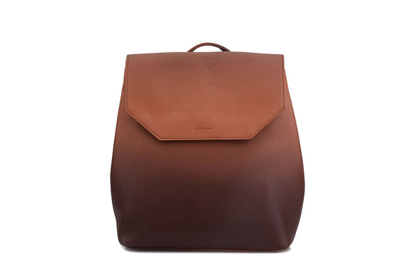 Ombre Backpack in Nutmeg Brown