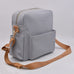 Midi Backpack - Grey with Plaid