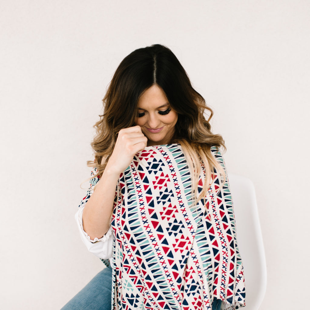 Lark Nursing Poncho & Car Seat Cover