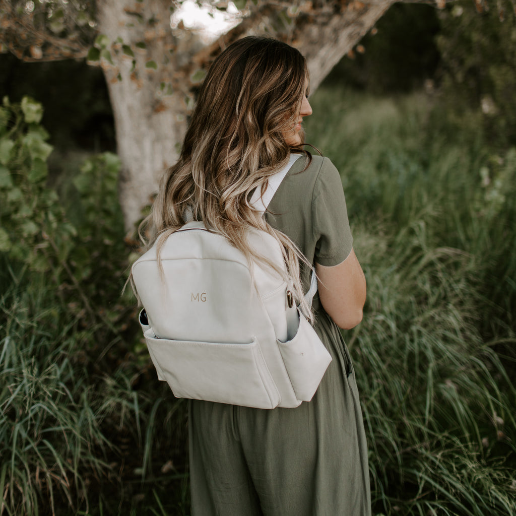 Brooklyn Backpack in Gray