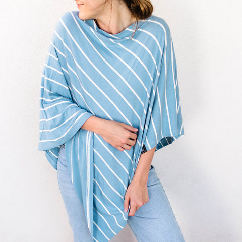 Nantucket Nursing Poncho