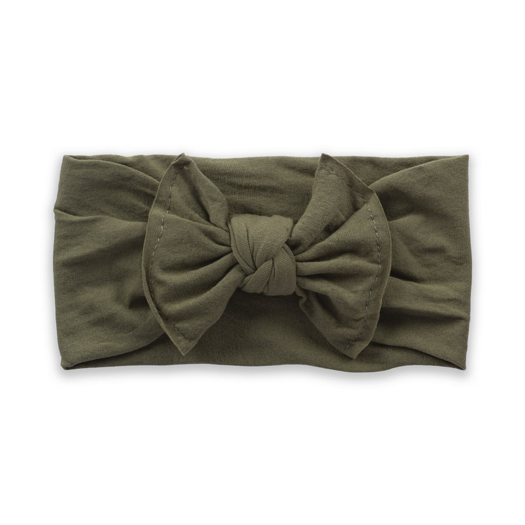 Everything Bow- Army Green