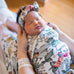 Hattie Swaddle Blanket & Headband Set
