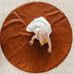 Round Cognac Reversible Playmat in Oliver