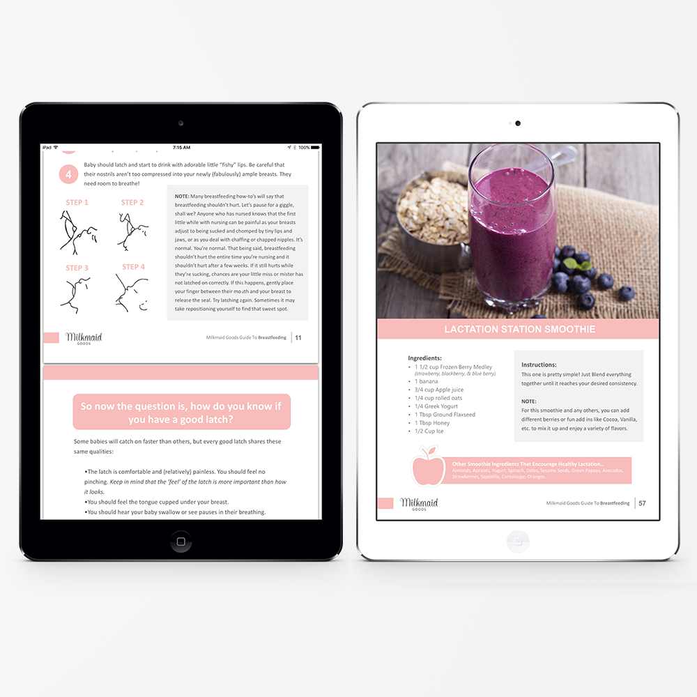 The Ultimate Guide To Breastfeeding Ebook Milkmaid Goods