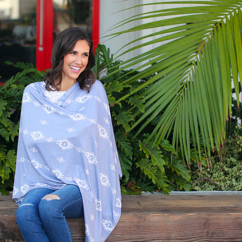 Nursing Cover - Desert Moon Nursing Poncho & Car Seat Cover
