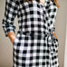 Buffalo Plaid Milkmaid Robe