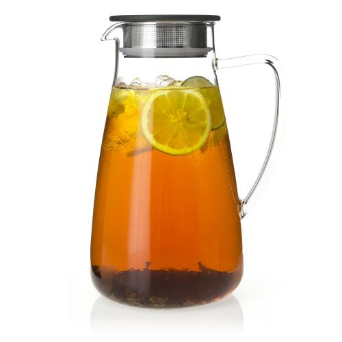 Flask Glass Iced Tea Jug - 64 oz