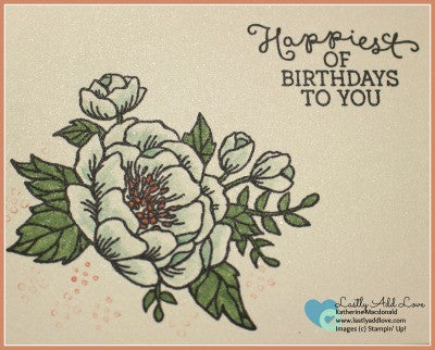 Birthday Blooms Birthday Card Set (4 Cards & Envelopes) - Lastly Add Love - 1