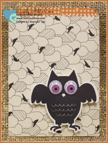 Mini Treat Bags - Halloween (Single Bag with Owl) - Lastly Add Love