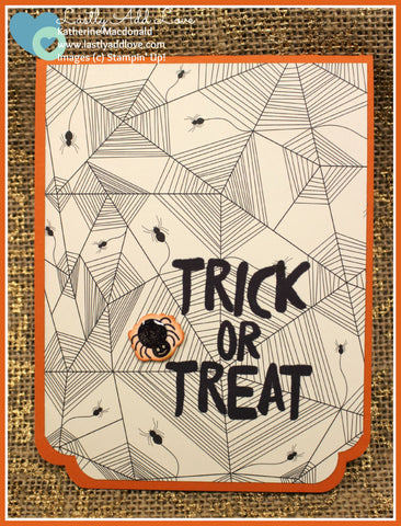 Trick or Treat Greeting Card - Lastly Add Love - 1