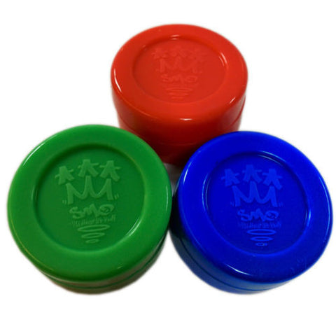 3 SMO-TUB Non-Stick Silicone Container Tubs - Heat resistant & Durable