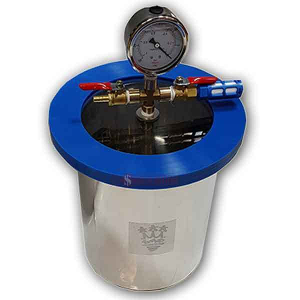 Vacuum Degassing Chamber 1.5 Gallon Stainless Steel - 6.8 Litre by 710Vacs