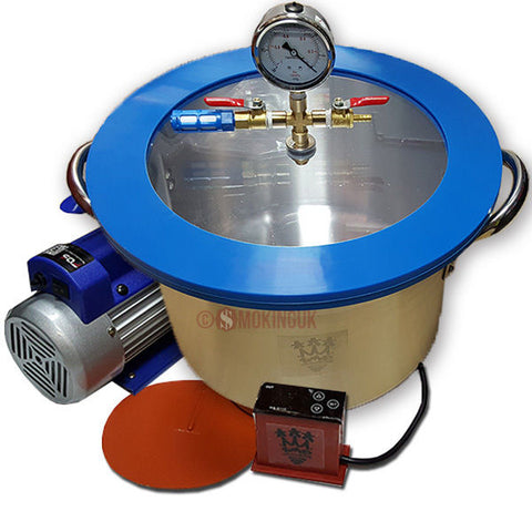 710Vacs Vacuum Degassing Chamber 3 Gallon Aluminium - 13.6 Litre - Full Kit