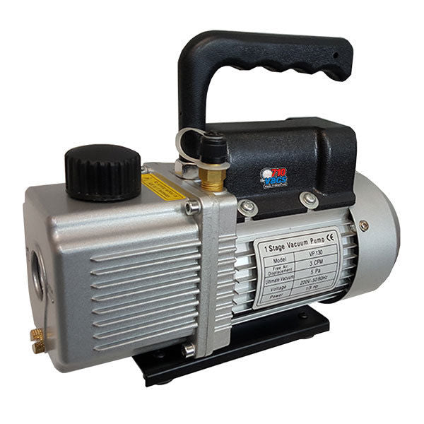 710 Vacs Vacuum Pump 1.8 CFM Rotary Vane Single Stage 1/4 HP, HVAC degassing