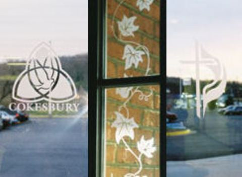 Custom Glass and Mirror Etching: Home and Commercial Decor, and Window Signage