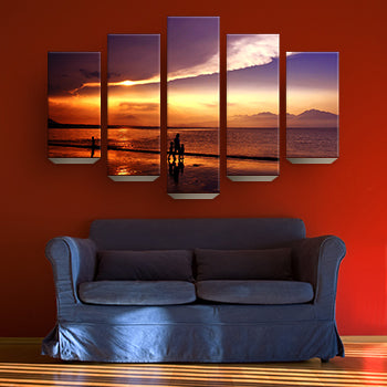 5 Panels Prints Posters Canvas
