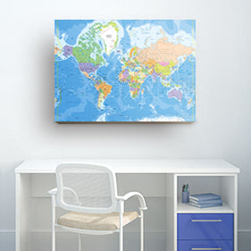 Maps Prints Posters Canvas