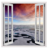 Fake 3D Window Arctic Sea | Canvas, Posters, Prints & Stickers - StyleIsUS.com