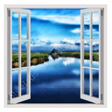 Fake 3D Window Darss Germany | Canvas, Posters, Prints & Stickers - StyleIsUS.com